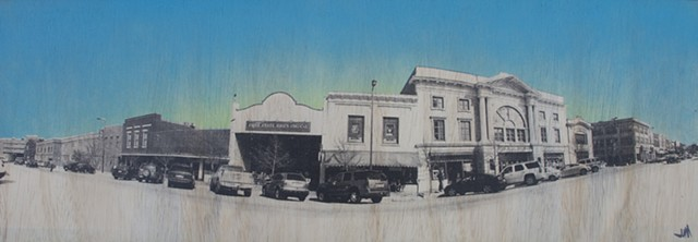 Freestate and Liberty Hall Pano