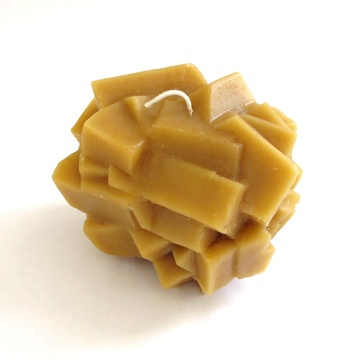 Nugget Beeswax Candle