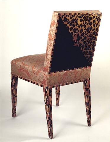 Playing card chair
