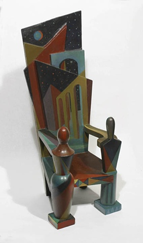 De Chirico Chair #2