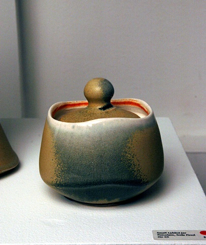 Sm. Lidded Jar