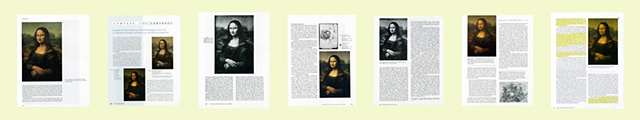 Mona Lisa, Group of Textbook Pages