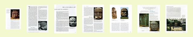 Colossal Olmec Head, Group of Pages