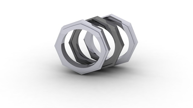 Stackable Nut Rings