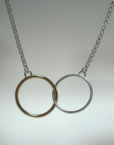 Ericka Rinne Wedding Necklace