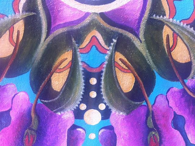 Camino de la Paz mandala (detail)