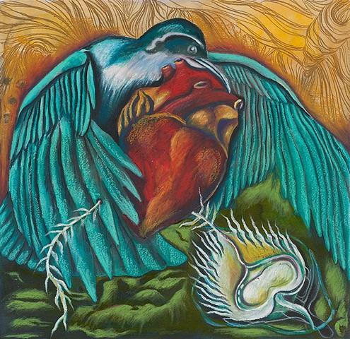 bird, wing