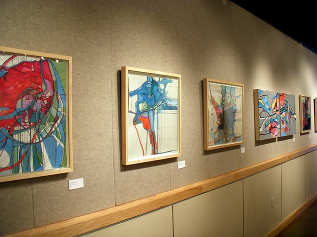 Group Exhibition: Newbies, Jennifer Brickey and Herb Rieth, Pellissippi State Bagwell Center Gallery (2010)