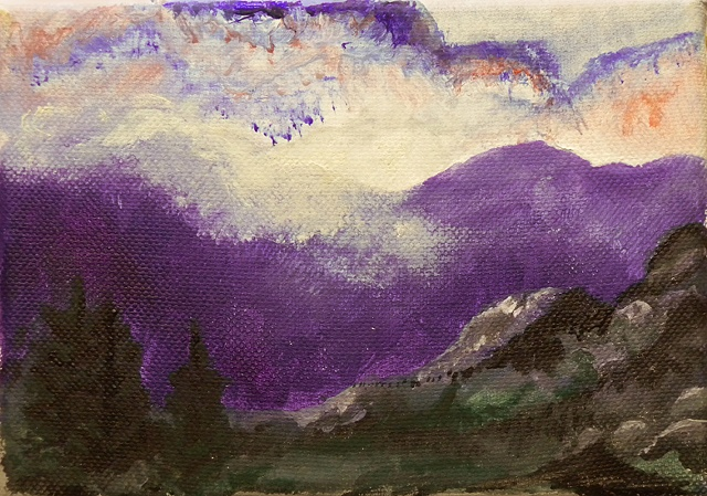 The Purple Mountains