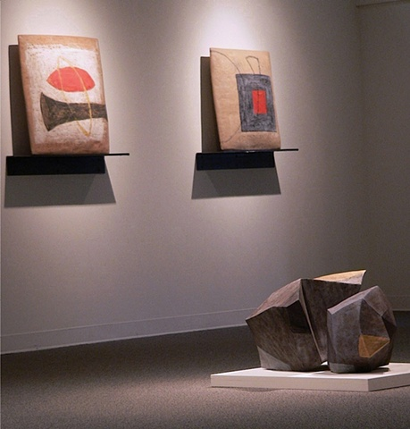 Installation View: Pillows and Landscape