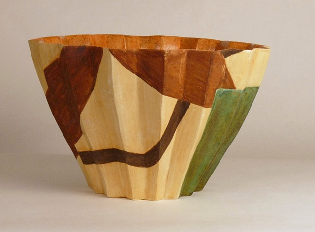 functional ceramics,  painted forms