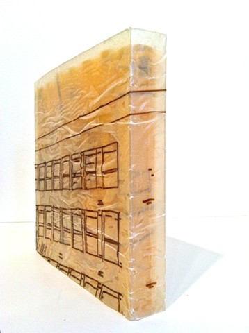 Book Building: Like a box of marches Artist Book