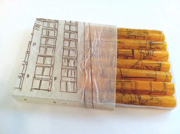 Book Building: Like a box of matches Artist Book