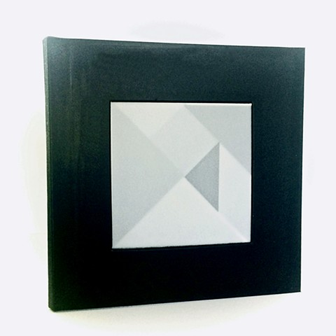 Black Square (From the series Split Shapes),  Artist Book