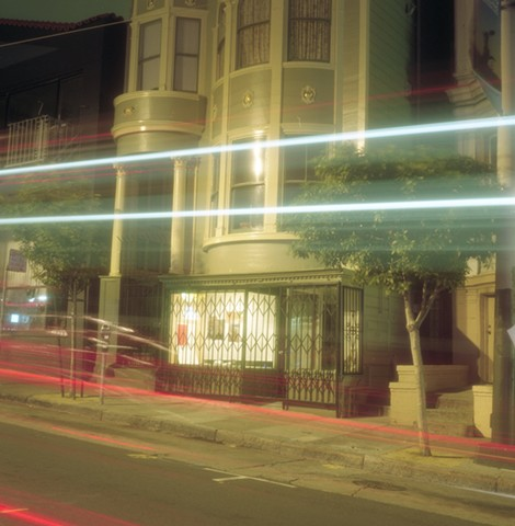 night shoot- Divisadero street
