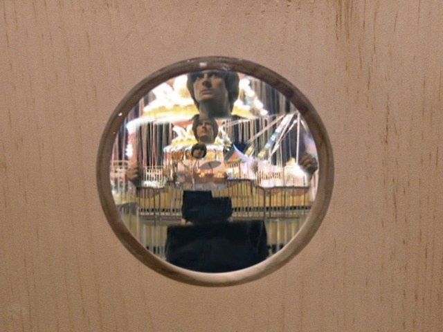 Key West (George) (Detail of Video Still Through Lens)