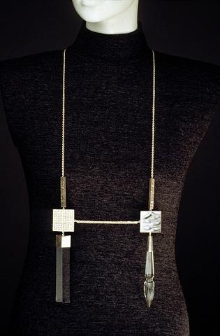 diptych neckpiece as worn