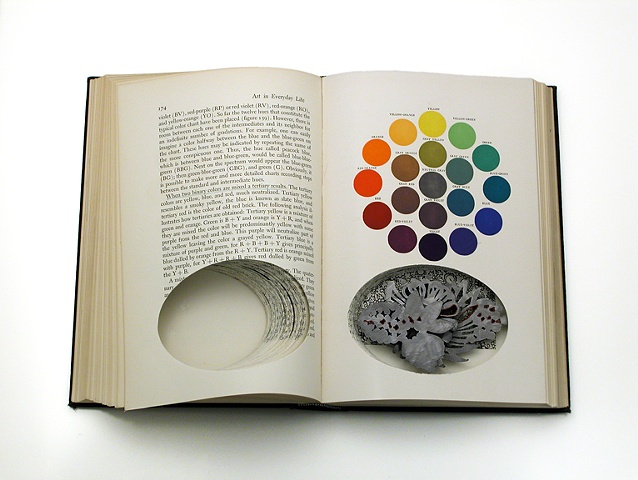 interior of book/box- color theory