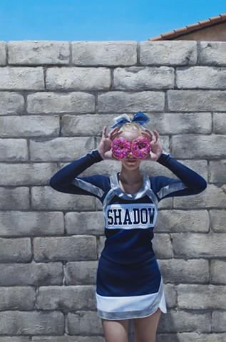 Doughnut Cheerleader