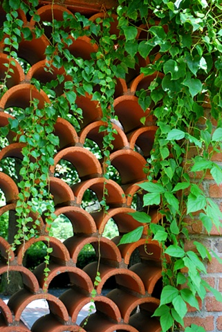 Vines and Clay Wall Pattern