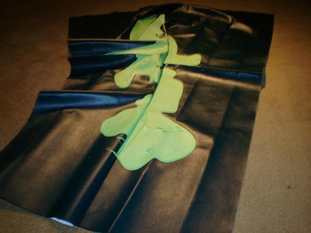 Pistachio on Folded Green