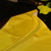Glossy Black on Yellow on Folded Black (detail)