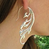 Breathless Earrings - sterling silver