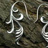 Outpouring Earrings - Silver