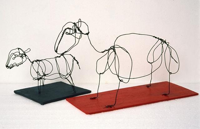 Neanderthal Wire Sheep