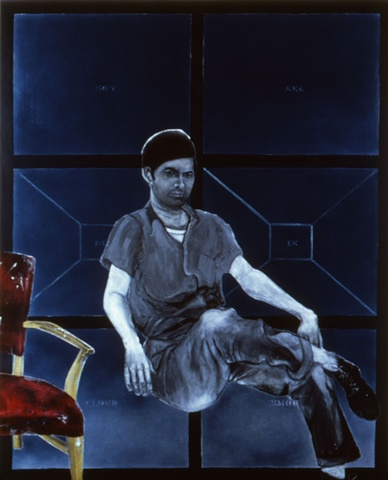 Portrait of Mel Bochner