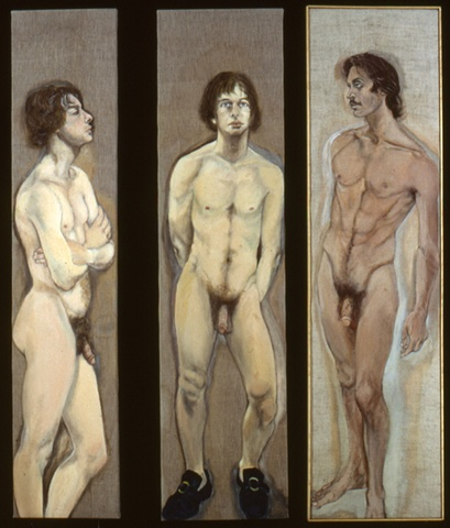 Three Academic Nudes