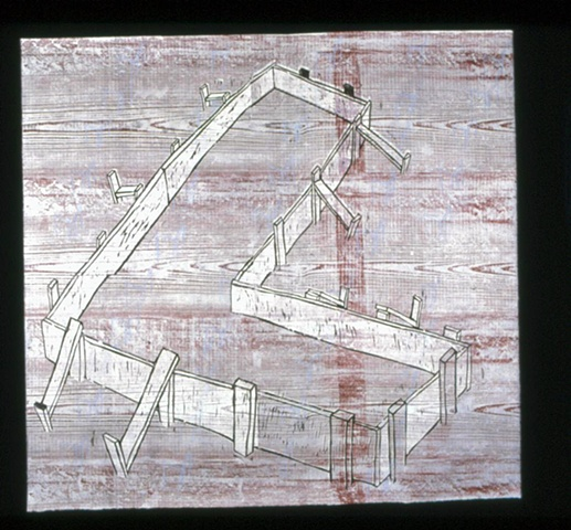 Architectural Woodcuts 2002-2005