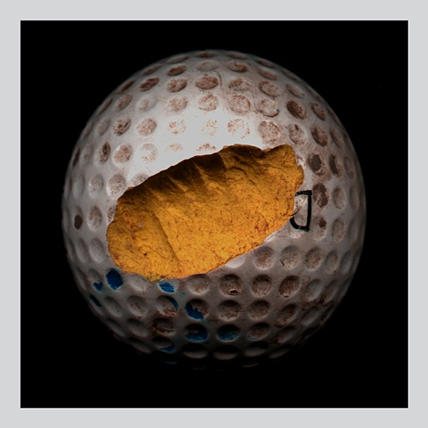 """Yellow Golf Ball"""