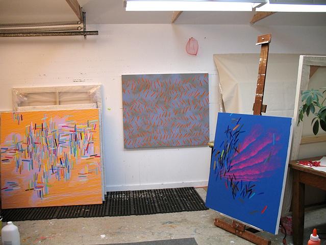 Martina Nehrling's artist studio 2006