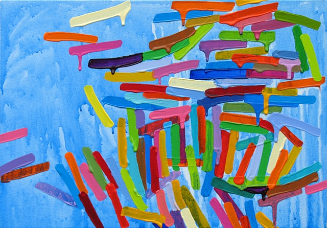Martina Nehrling, I Just Do, 14H x 20L in., acrylic on canvas, 2010