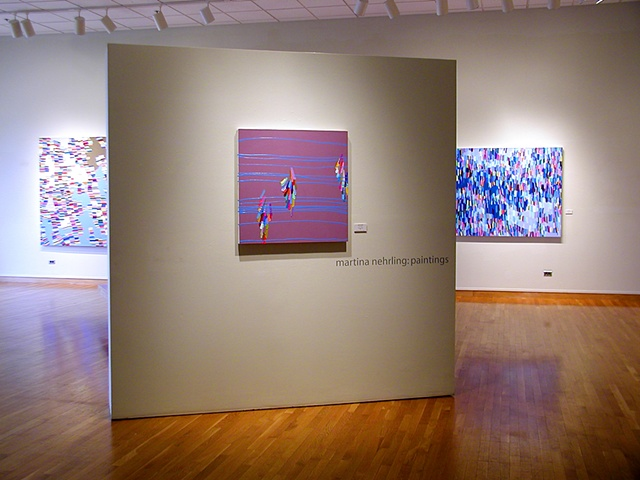 "solo exhibition ""Martina Nehrling: Paintings"" at the South Bend Museum of Art, 2005"