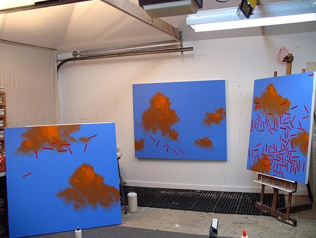 Martina Nehrling's artist studio, 2006