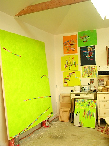 Martina Nehrling's artist studio September 2005