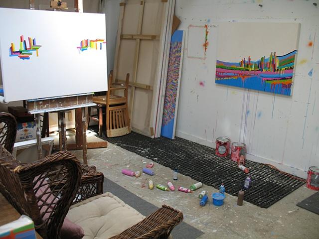 Martina Nehrling, Studio, July 2010