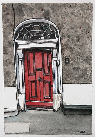 Untitled (Red Door #4)