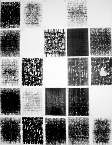 Genius Exulis Mei II, print installation (Origin of my exile)