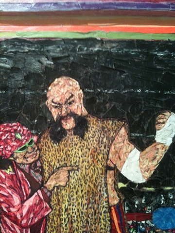 """Ox Baker"", 2010  Detail  Paul Perkins"