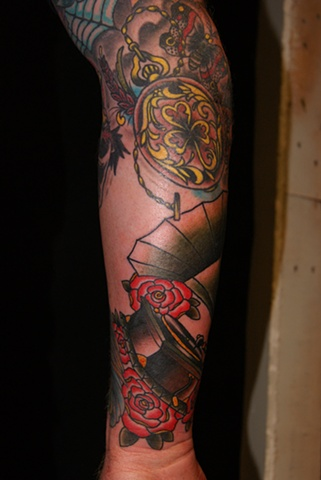 phonograph tattoo anthony filo rochester