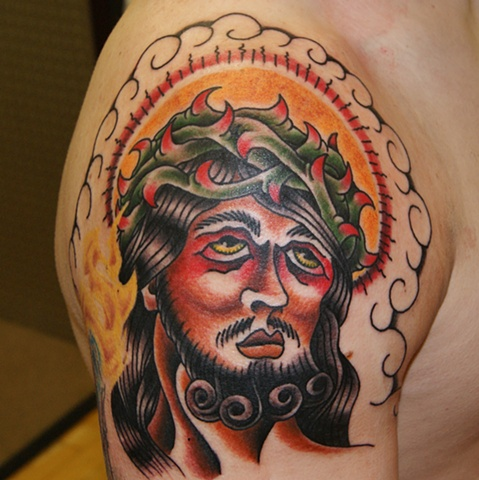 jesus tattoo - anthony filo rochester