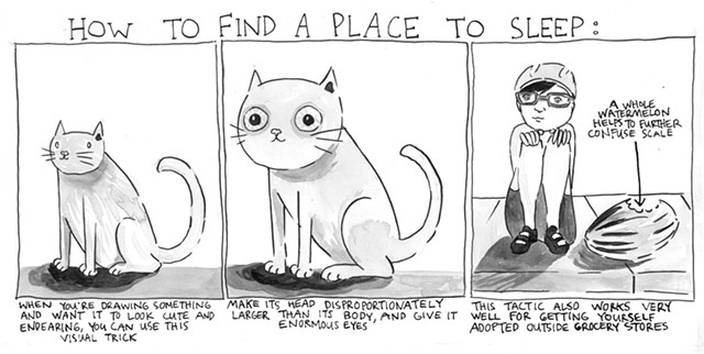 How to Find a Place to Sleep
