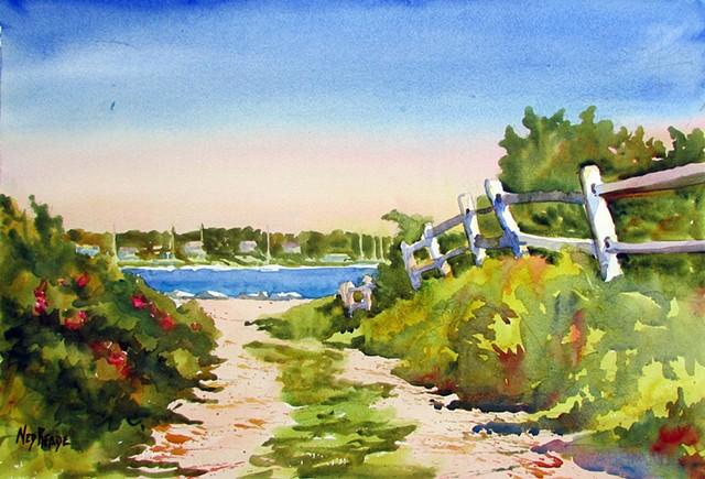 To the Harbor, Eastville Beach