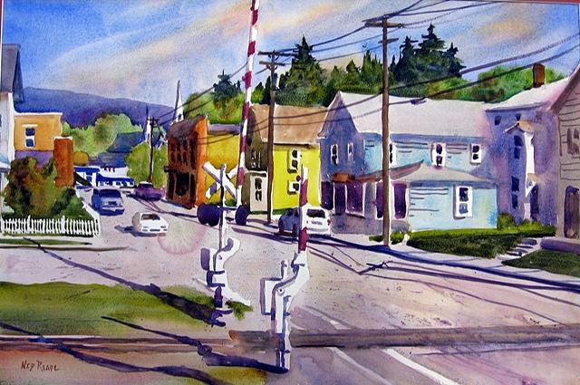 Sunshine on East Main Street
