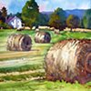 Summer Haybales