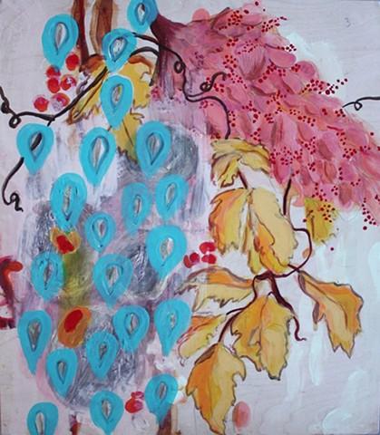 Bloom Pattern - Teardrops