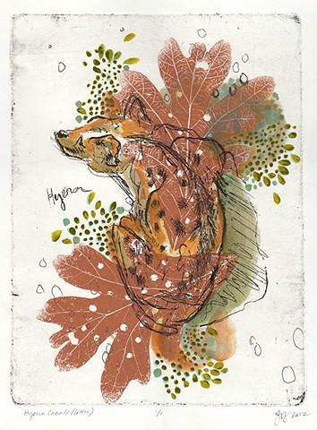 Hyena Cascade - Green